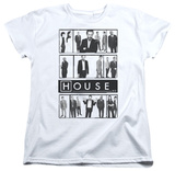 Womens: House - Film T-shirts