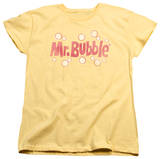 Womens: Mr Bubble - Vintage Logo Shirt