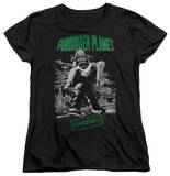 Womens: Forbidden Planet - Robot Poster T-Shirt