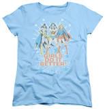 Womens: DC Comics - Girls Do It Better T-shirts