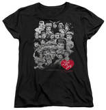 Womens: I Love Lucy - 60 Years Of Fun T-shirts