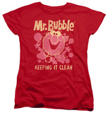 Womens: Mr Bubble - Keeping It Clean Shirts