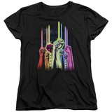 Womens: Green Lantern - Rainbow Corps T-Shirt
