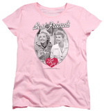 Womens: I Love Lucy - Best Friends Shirts