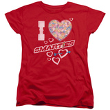 Womens: Smarties - I Heart Smarties T-Shirt