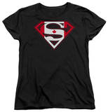 Womens: Superman - Canadian Shield Shirt