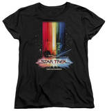 Womens: Star Trek - Motion Picture Poster T-Shirt