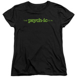 Womens: Psych - The Psychic Is In Shirt