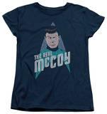 Womens: Star Trek - The Real Mccoy T-shirts