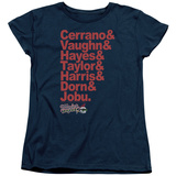 Womens: Major League - Team Roster T-Shirt