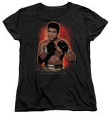 Womens: Muhammad Ali - Painted T-Shirt
