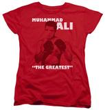 Womens: Muhammad Ali - Ready To Fight T-Shirt