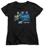 Womens: Star Trek - Main Three T-Shirt