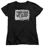 Womens: They Live - We Sleep T-shirts