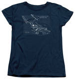 Womens: Star Trek - Enterprise Prints T-shirts
