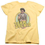 Womens: Pretty In Pink - Team Duckie T-shirts