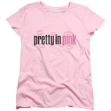 Womens: Pretty In Pink - Logo T-Shirt