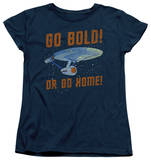 Womens: Star Trek - Go Bold T-shirts