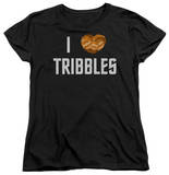 Womens: Star Trek - I Heart Tribbles T-shirts