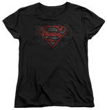 Womens: Superman - Brick S T-Shirt
