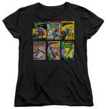 Womens: Superman - Superman Covers T-shirts