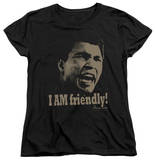 Womens: Muhammad Ali - Friendly T-Shirt