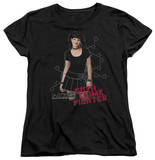 Womens: NCIS - Goth Crime Fighter T-Shirt