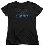 Womens: Star Trek - Enterprise Outline T-shirts