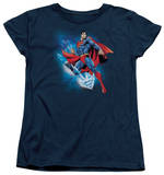Womens: Superman - Crystallize T-Shirt