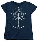 Womens: Lord Of The Rings - Tree Of Gondor T-shirts