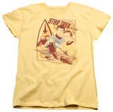 Womens: Star Trek - Shoot That Thing T-shirts