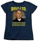 Womens: NCIS - Rule 23 T-shirts