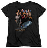 Womens: Star Trek - Voyager Crew T-shirts