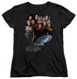 Womens: Star Trek - Voyager Crew T-shirts