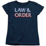 Womens: Law & Order - Logo T-shirts