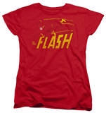 Womens: The Flash - Flash Speed Distressed T-shirts
