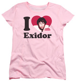 Womens: Mork & Mindy - I Heart Exidor Shirt