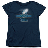 Womens: Polar Express - Train Logo T-Shirt