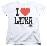 Womens: Taxi - I Heart Latka Shirt