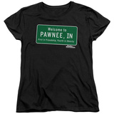 Womens: Parks & Recreation - Pawnee Sign T-Shirt
