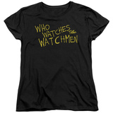 Womens: Watchmen - Who Watches T-shirts