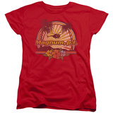 Womens: Magnum P.I. - Hawaiian Sunset T-Shirt