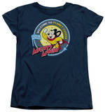 Womens: Mighty Mouse - Planet Cheese T-Shirt