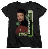 Womens: Star Trek - Riker T-Shirt