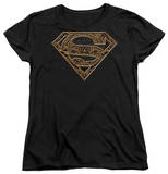 Womens: Superman - Aztec Shield T-Shirt