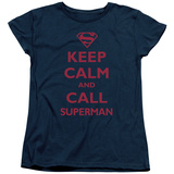 Womens: Superman - Call Superman T-shirts