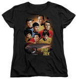 Womens: Star Trek - Heart Of The Enterprise T-Shirt
