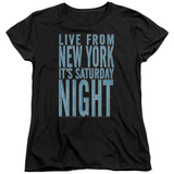 Womens: Saturday Night Live - Its Saturday Night T-shirts