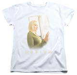 Womens: Medium - White Light Shirts