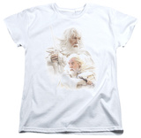 Womens: Lord Of The Rings - Gandalf The White T-shirts
